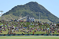 21st November 2019; Mt Maunganui, New Zealand;  General view. international test match cricket, Day 1, New Zealand versus England at Bay Oval, Mt Maunganui, New Zealand.