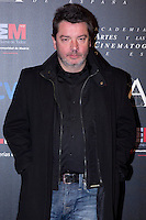 28/01/2012. Real Casa de Correos. Madrid. Spain. Goya Awards Nominated Gala 2012. Enrique Urbizu