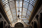 Glass Ceiling of the Royal - Real Casino of Murcia, Spain