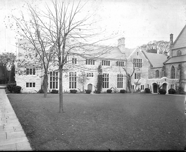 Frederick Stone negative. St. John's Parish House. Undated photo.