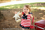 One year old Birthday, Smash the Cake Session, Red, White & Blue 4th of July Birthday Session,<br />