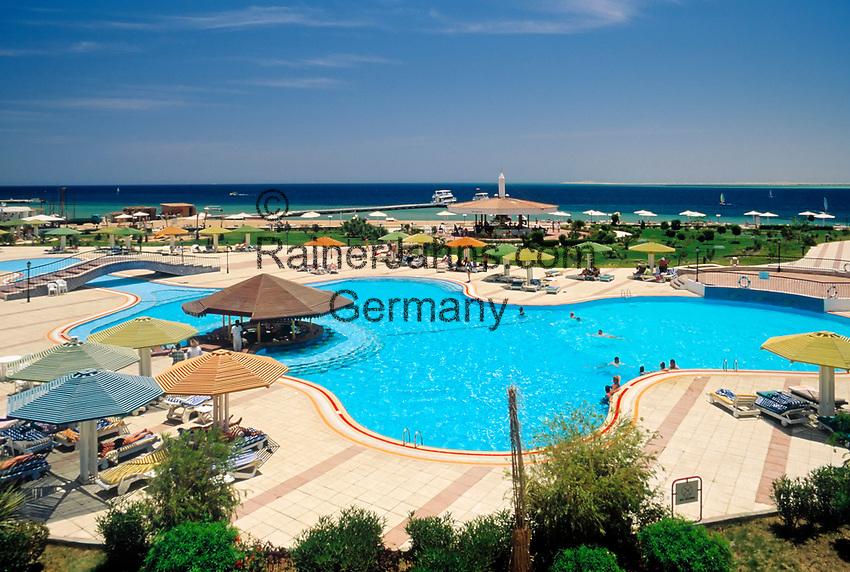 EGY, Aegypten, Safaga: Hotel Holiday Inn, Pool | EGY, Egypt, Safaga: Hotel Holiday Inn, Pool
