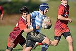 NELSON, NEW ZEALAND - JUNE 11: Stoke U14 v Nelson College U14 Argentina, Greenmeadows, June 11 2016, Nelson, New Zealand. (Photo by: Barry Whitnall Shuttersport Limited)