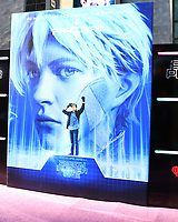 """LOS ANGELES - MAR 26:  Ready Player One Poster - Parzival at the """"Ready Player One"""" Premiere at TCL Chinese Theater IMAX on March 26, 2018 in Los Angeles, CA"""