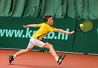 Wateringen, The Netherlands, March 14, 2018,  De Rhijenhof , NOJK 14/18 years, Jip Mens (NED)<br /> Photo: www.tennisimages.com/Henk Koster