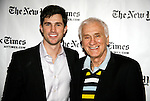 Matt Cavenaugh and Dick Latessa<br />attending HARVEY & FAMILY: A  Conversation with Harvey Fierstein at the TimesCenter, New York City.<br />April 1, 2008