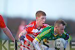 Barry John Keane   Kerry in action against Pa Kilkenny Cork IT in the semi final of the McGrath Cup at John Mitchells Grounds on Sunday.