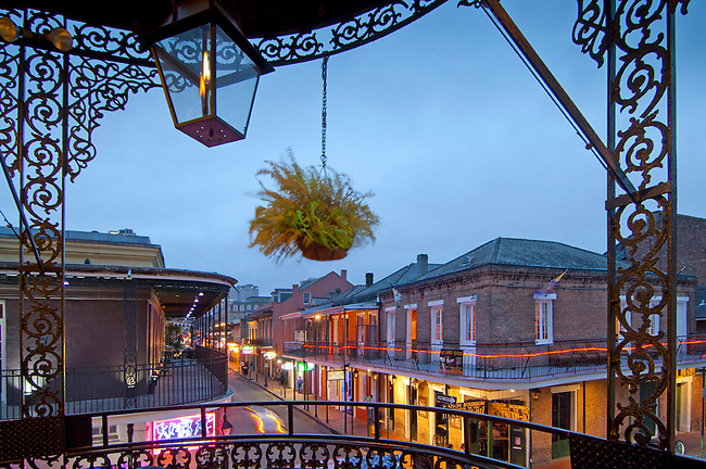 Louisiana, New Orleans, French Quarter, Bourbon Street