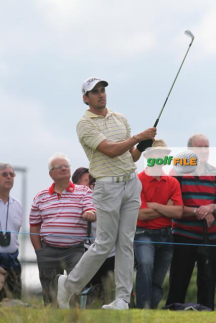 Rafael Cabrera-Bello (ESP) during the Pro Am of the 2012 Irish Open at Royal Portrush Golf Club, Portrush...(Photo Jenny Matthews/www.golffile.ie)