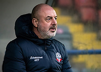 Bolton Wanderers' manager Keith Hill <br /> <br /> Photographer Andrew Kearns/CameraSport<br /> <br /> The EFL Sky Bet League One - Rochdale v Bolton Wanderers - Saturday 11th January 2020 - Spotland Stadium - Rochdale<br /> <br /> World Copyright © 2020 CameraSport. All rights reserved. 43 Linden Ave. Countesthorpe. Leicester. England. LE8 5PG - Tel: +44 (0) 116 277 4147 - admin@camerasport.com - www.camerasport.com