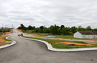 A new section of Gene George Boulevard is visible Tuesday, May 19, 2020, in Springdale. The northern expansion of Gene George Boulevard will run from Bleaux Avenue to Elm Springs Road. Check out nwadg.com/photos for a photo gallery.<br /> (NWA Democrat-Gazette/David Gottschalk)