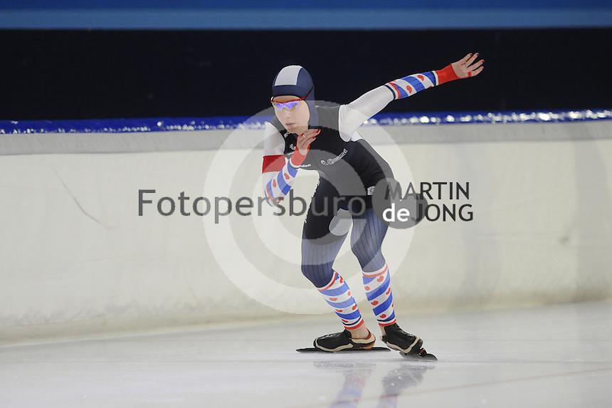 Kerstsprinttoernooi 261216<br /> <br /> &copy;foto Martin de Jong SCHAATSEN: HEERENVEEN: 26-12-2016, IJsstadion Thialf, Kerstsprinttoernooi, &copy;foto Martin de Jong
