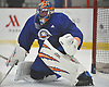 Jaroslav Halak #41, New York Islanders goalie, defends the net during team training camp at Northwell Health Ice Center in East Meadow on Friday, Sept. 15, 2017.