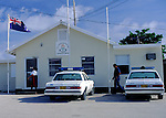 Police station, Cayman Brac, Cayman Islands, British West Indies,