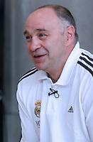 pablo laso(entrenador real madrid)