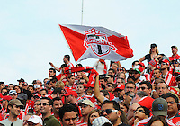 Fans show their support. Toronto FC 0, Kansas City Wizards 0, BMO Field, Toronto, June 21, 2008.