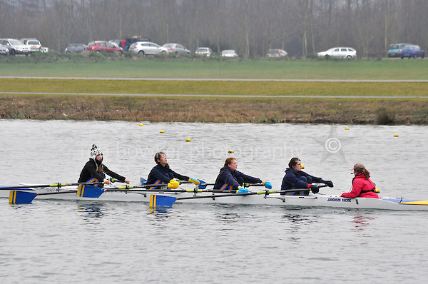 522 SirWPerkinssSch W.J14A.4x+..Marlow Regatta Committee Thames Valley Trial Head. 1900m at Dorney Lake/Eton College Rowing Centre, Dorney, Buckinghamshire. Sunday 29 January 2012. Run over three divisions.