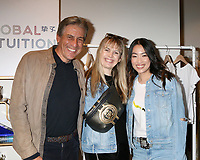 LOS ANGELES - FEB 18:  Andrew Banks, Sophia Banks, Yizhou at the Global Intuition Campaign Launch hosted by Yizhou at Fred Segal Sunset on February 18, 2019 in West Hollywood, CA