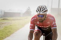 dusty Marco Coledan (ITA/Trek-Segafredo)<br /> <br /> 60th E3 Harelbeke (1.UWT)<br /> 1day race: Harelbeke › Harelbeke - BEL (206km)