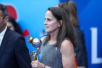Lyon (França), 07/07/2019 - Copa do Mundo de Futebol Feminino / Estados Unidos x Holanda - Trofeu antes da partida entre Estados Unidos e Holanda valido pela Final da Copa do Mundo de Futebol Feminino em Lyon na França neste domingo, 07. (Foto: Vanessa Carvalho/Brazil Photo Press/Agencia O Globo) Esportes