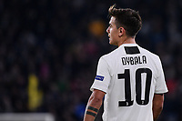Dybala Paulo Exequiel (Juventus F.C.) reacts during the Uefa Champions League 2018/2019 Group H football match between Juventus and Valencia at Juventus stadium, Torino, November 27, 2018 <br />  Foto Federico Tardito/ OnePlusNine / Insidefoto