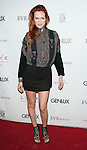 Breeda Wool arriving at the Genlux Magazine 10th Issure Party held at Eve by Eve's in Beverly Hills Ca. March 12, 2015