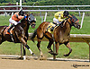 Royal Currier winning The Hockessin Stakes at Delaware Park racetrack on 6/18/14