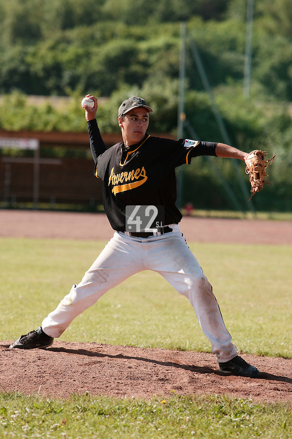 04 July 2010: Arvernes Clermont-Ferrand, little league, championnat Cadets, Ronchin, France.