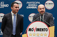 Gianluigi Paragone<br /> <br /> Roma 29/01/2018. Presentazione dei candidati nelle liste uninominali del Movimento 5 Stelle.<br /> Rome January 29th 2018. Presentation of the candidates for Movement 5 Stars.<br /> Foto Samantha Zucchi Insidefoto