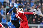 Saarbr&uuml;ckens Saarbr&uuml;ckens Oliver Oschkenat   (l.) und Worms Thomas G&ouml;sweiner k&auml;mpfen um den Ball  beim Spiel in der Regionalliga Suedwest, 1. FC Saarbruecken - Wormatia Worms.<br /> <br /> Foto &copy; PIX-Sportfotos *** Foto ist honorarpflichtig! *** Auf Anfrage in hoeherer Qualitaet/Aufloesung. Belegexemplar erbeten. Veroeffentlichung ausschliesslich fuer journalistisch-publizistische Zwecke. For editorial use only.