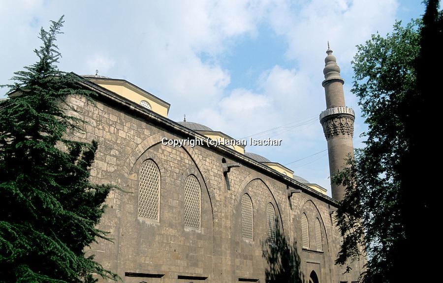 Turkey, Bursa. The Green Mosque