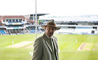 PICTURE BY VAUGHN RIDLEY/SWPIX.COM - Cricket - County Championship, Div 2 - Yorkshire v Northamptonshire, Day 1  - Headingley, Leeds, England - 20/05/12 - Yorkshire CCC President Geoffrey Boycott speaks to the media.