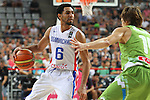 06.09.2014. Barcelona, Spain. 2014 FIBA Basketball World Cup, round of 16. Picture show J. Coronado in action during game between Dominican Republic  v Slovenia  at Palau St. Jordi