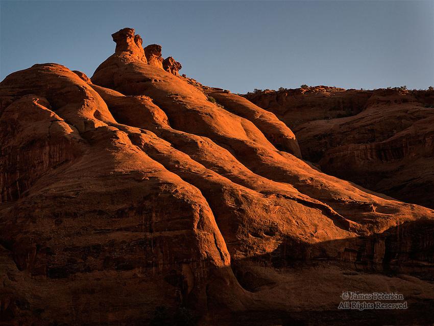 Canyon Wall, Monument Valley, Arizona