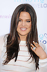 BEVERLY HILLS, CA - AUGUST 02: Khloe Kardashian attends the launch of her custom cocktail recipe for HPNOTIQ Harmonie Liqueur at Mr. C Beverly Hills on August 2, 2012 in Beverly Hills, California.