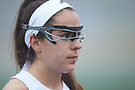 Abbie Karalis (14) of the High Point Panthers prior to the start of the match against the Furman Purple Paladins at Vert Track, Soccer & Lacrosse Stadium on February 10, 2018 in High Point, North Carolina.  The Panthers defeated the Purple Paladins 17-6.  (Brian Westerholt/Sports On Film)