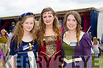 Sarah Stack, Susi De Rís and Aoife Mahony who are volunteers at the Fairy Festival in Kilflynn on Sunday