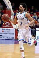 GRONINGEN - Basketbal, Donar - Landstede Zwolle, Halve finale Beker, seizoen 2019-2020, 13-02-2020,  Donar speler Carrington Love