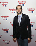 Marc Bruni attends The Broadway League and the Coalition of Broadway Unions and Guilds (COBUG) presents the 9th Annual Broadway Salutes at Sardi's on November , 2017 in New York City.