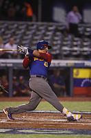 Victor Martinez de Venezuela, durante el partido de desempate italia vs Venezuela, World Baseball Classic en estadio Charros de Jalisco en Guadalajara, Mexico. Marzo 13, 2017. (Photo: AP/Luis Gutierrez)
