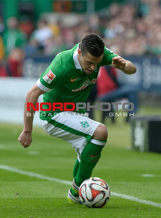 02.05.2015, Weserstadion, Bremen, GER, 1.FBL, Werder Bremen vs Eintracht Frankfurt, im Bild Zlatko Junuzovic (Bremen #16)<br /> <br /> Foto &copy; nordphoto / Frisch