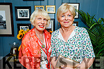 Patricia Adams and Mary Higgans enjoying the evening in The Ashe Hotel on Saturday.