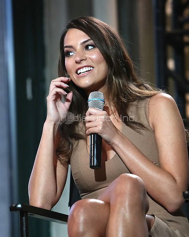 New York, NY - September 10 : Actress Genesis Rodriguez attends the AOL Build Speaker Series Presents: Justin Long & Genesis Rodriguez discussing their experience on the new Kevin Smith film, 'Tusk' at AOL Studios in New York City on September 10, 2014 Credit: Brent N. Clarke / MediaPunch