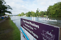 "Henley on Thames. United Kingdom.  General View at the ""Barrier""    Thursday,  30/06/2016,      2016 Henley Royal Regatta, Henley Reach.   [Mandatory Credit Peter Spurrier/ Intersport Images]"