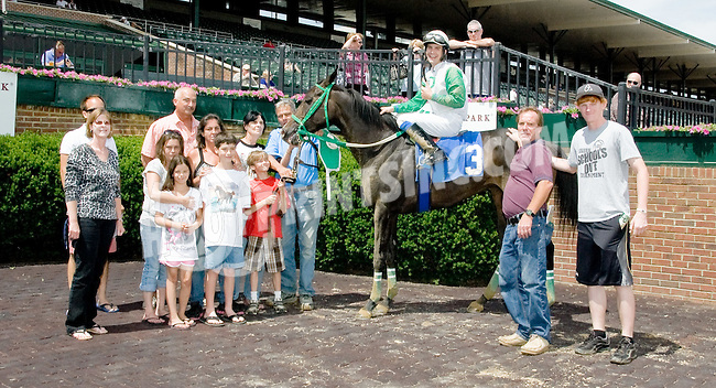 Dance Off winning at Delaware Park on 6/13/12