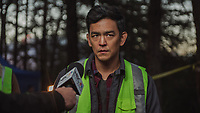 Searching (2018)<br /> John Cho  <br /> *Filmstill - Editorial Use Only*<br /> CAP/MFS<br /> Image supplied by Capital Pictures