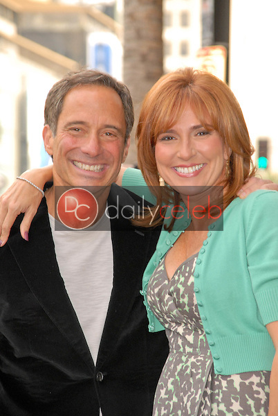 Harvey Levin and Judge Marilyn Milian<br />