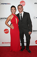 HOLLYWOOD, CA - SEPTEMBER 30: Deanna Stagliano, Stephen Stagliano, at The 6th Annual Saving Innocence Gala at Loews Hollywood Hotel, California on September 30, 2017. Credit: Faye Sadou/MediaPunch