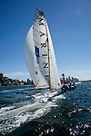 Day four of the JJ Giltinan 18 Ft Skiff championship 2007 in the Sydney Harbour..