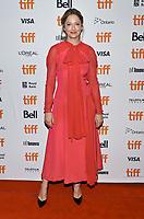 08 September 2018 - Toronto, Ontario, Canada - Judy Greer. &quot;Halloween&quot; Premiere - 2018 Toronto International Film Festival held at The Elgin Theatre. <br /> CAP/ADM/BPC<br /> &copy;BPC/ADM/Capital Pictures